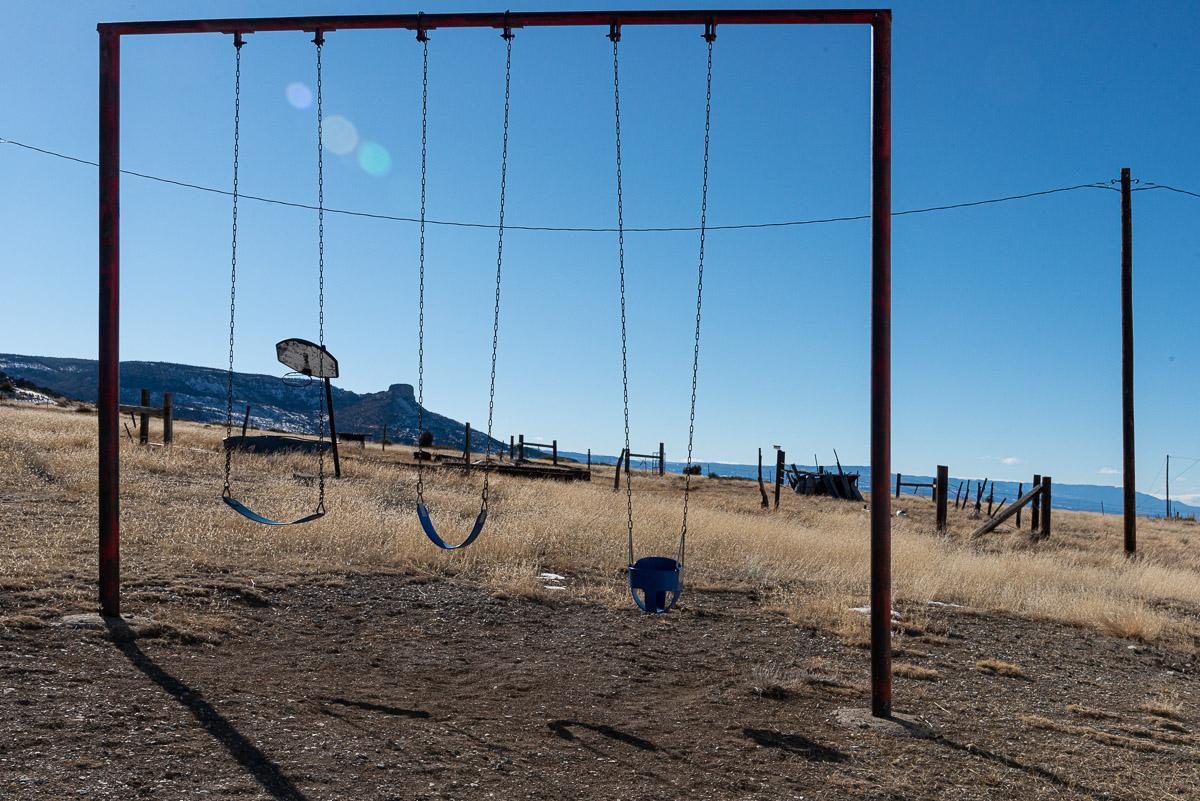 Deserted playground