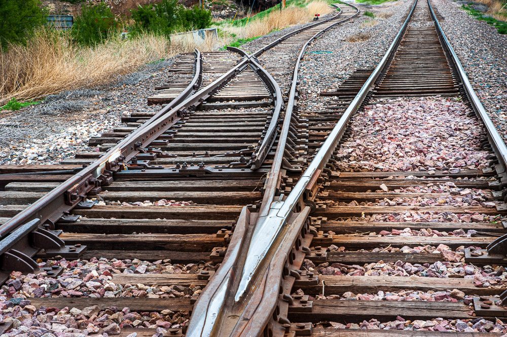 Obscure found image. Track to nowhere