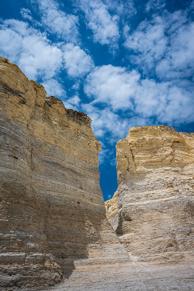 Kansas cliffs, heartland surprise.